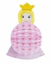 Papieren bollampion prinsesje