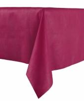 Papieren tafelkleed bordeaux 140 x 240 cm