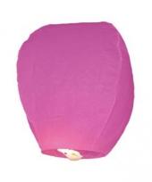 Papieren wenslantaarn roze