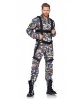Parachutist kostuum voor heren