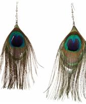 Paradijsvogel oorbellen