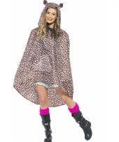 Party ponchos luipaard
