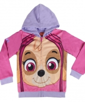 Paw patrol skye hooded sweatshirt