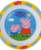 Peppa big ontbijtset bord
