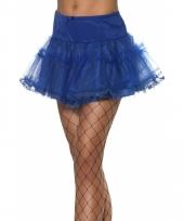 Pettycoat in de kleur blauw