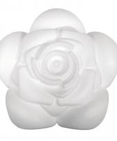 Piepschuim bloemen roos 11 cm