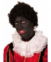 Pieten pruik zwart