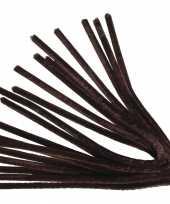 Pijpenragers bruin 50 cm 10 st