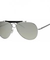 Pilotenbril met spiegelglas