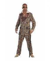 Pimp pak voor heren luipaard