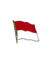 Pin vlaggetje indonesie