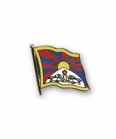 Pin vlaggetje tibet