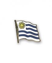 Pin vlaggetje uruguay