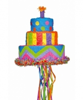 Pinata verjaardagstaart 33 cm