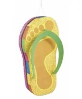 Pinata zomerse slipper 60 cm