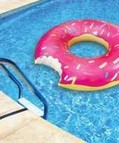 Pink donut zwemband