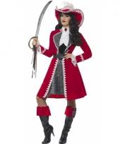 Piraat kapitein dames verkleedkleding
