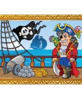 Piratenschip poster