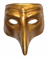 Plaag comedy masker goud