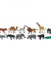 Plastic figuren van wilde dieren