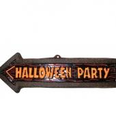 Plastic pijl halloween party
