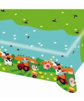 Plastic tafekleden boerderij dieren