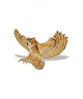 Plastic vogel oehoe uil 14cm