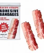 Pleisters in de vorm van bacon