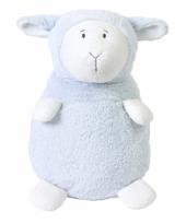 Pluche blauwe lammetjes knuffels lammy 35 cm