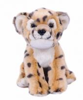 Pluche cheetah knuffel 20 cm