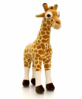 Pluche giraffe knuffel staand 35cm