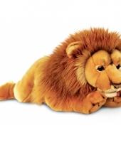 Pluche grote leeuw 100 cm