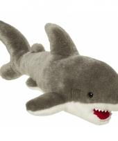 Pluche haai knuffel 45 cm