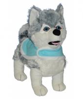 Pluche huskie honden 40 cm