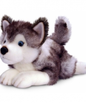 Pluche husky knuffel 50 cm