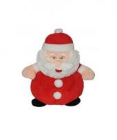 Pluche kerstman knuffels 25 cm