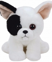 Pluche knuffel hond puppy ty beanie marcel 33 cm