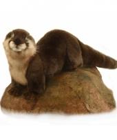 Pluche knuffel otter 24 cm