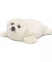 Pluche knuffelbeest zeehond 38 cm
