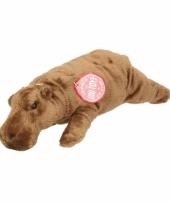 Pluche nijlpaard knuffeldier 25 cm