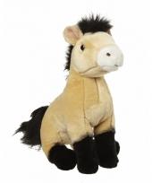 Pluche przewalski paard knuffel 27 cm