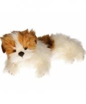 Pluche yorkshire terrier hond knuffel 42 cm