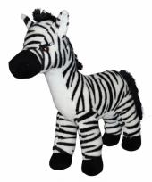 Pluche zebra 32 cm