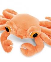 Pluchen knuffel krab 15 cm