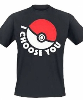 Pokemon shirt met pokeball