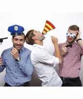 Politie accessoires fotoprops