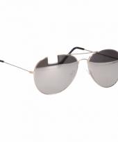 Politie of piloten spiegel zonnebril