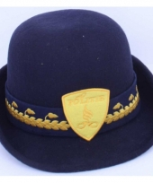 Politieagente hoed van wolvilt