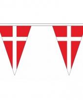 Polyester slinger met denemarken vlaggetjes