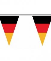 Polyester slinger met duitsland vlaggetjes